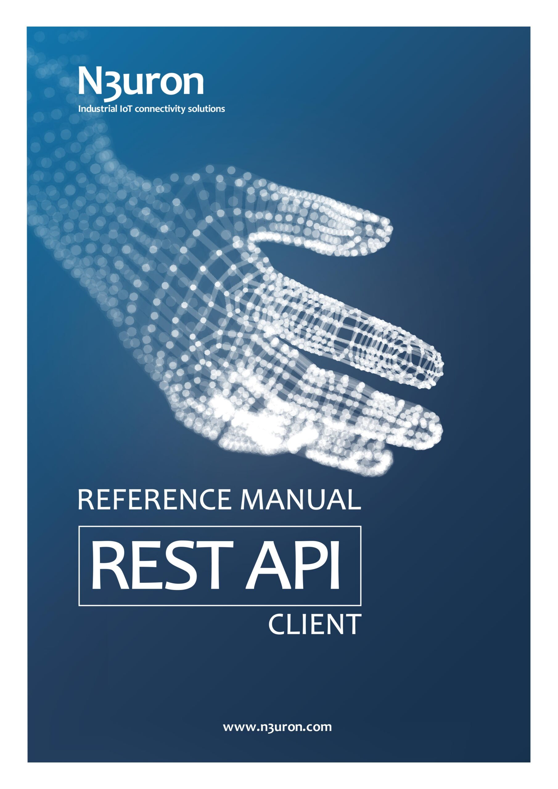 N3uron Industrial IoT communication platform Rest Api Client Manual Cover.
