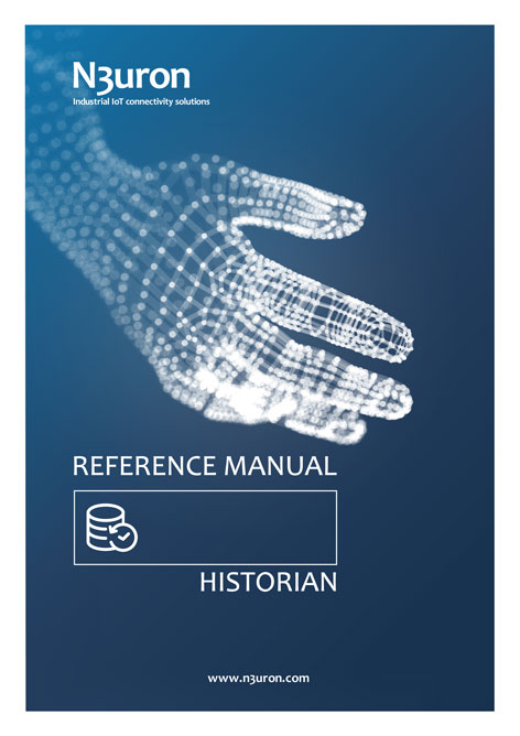 N3uron Industrial IoT communication platform Historian Manual Cover